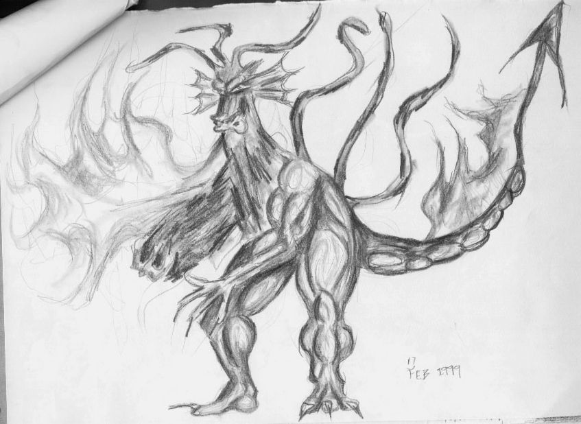 angry dragon breathing fire - pencil drawings | sketches ...